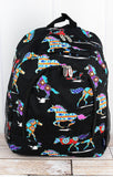Santa Fe Horse Large Backpack