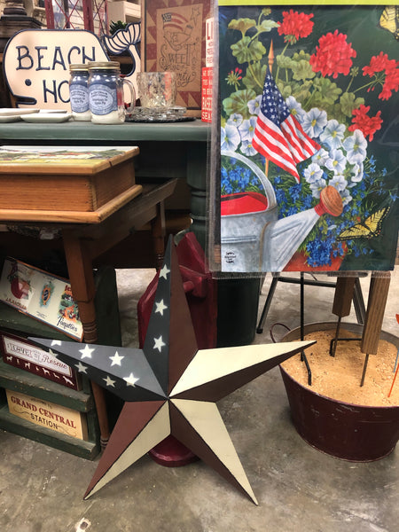 "24"" Patriotic Barn Star"