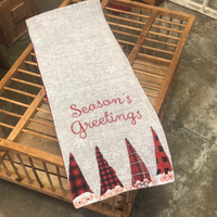 Christmas Gnome Table Runner
