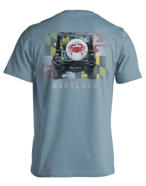 Live Oak Maryland Wheel Cover Tshirt