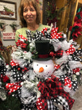 DIY Snowman Wreath Workshop 12/6/19