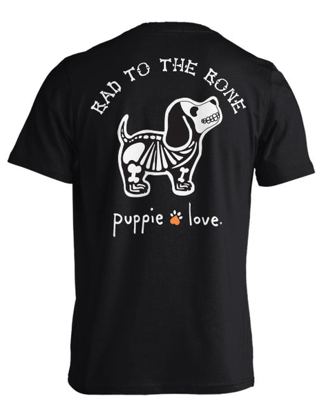 Bad To The Bone Puppie Love Tshirt