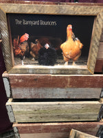 The Barnyard Bouncers Wall Sign