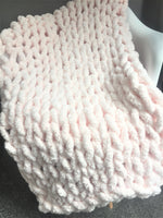 DIY Chunky Knit Blanket Workshop 10/26/19