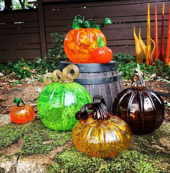DIY Glass Blown Pumpkin Workshop