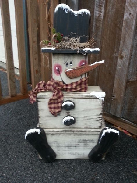 DIY Stackable Snowman Box Workshop 11/21/19