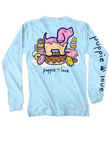 Puppie Love Donut Pup Long Sleeve