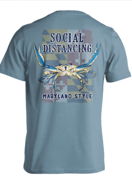 Live Oak - Maryland Social Distancing Tshirt