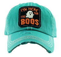 I'm Here For The Boos Vintage Cap