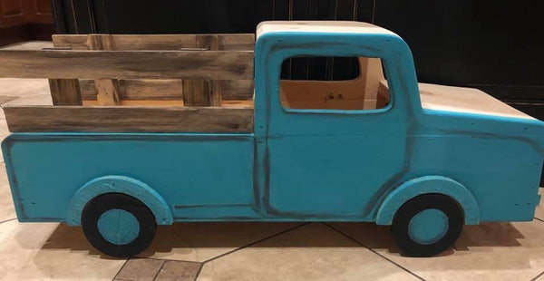 DIY All Seasons Wood Truck Workshop 10/27/19