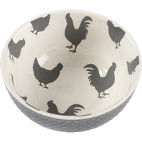 Farmhouse Rooster Bowl