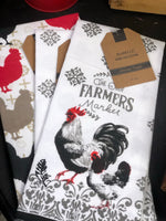 Farmhouse Kitchen Ware - Rooster Pattern