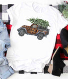 Leopard Jeep Graphic Tshirt