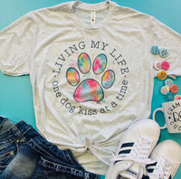 One Dog Kiss at a Time Tshirt-Pre order