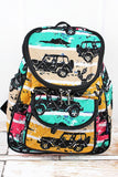 Route 66 Jeep Themed Backpack