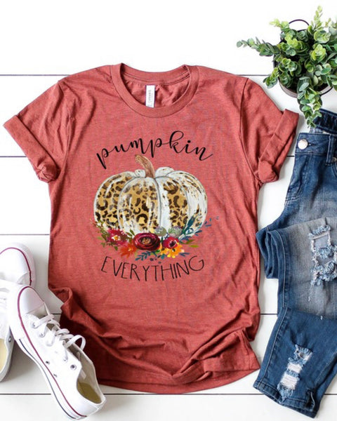 Pumpkin Everything Graphic Tshirt