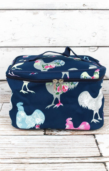 Rooster Train Case
