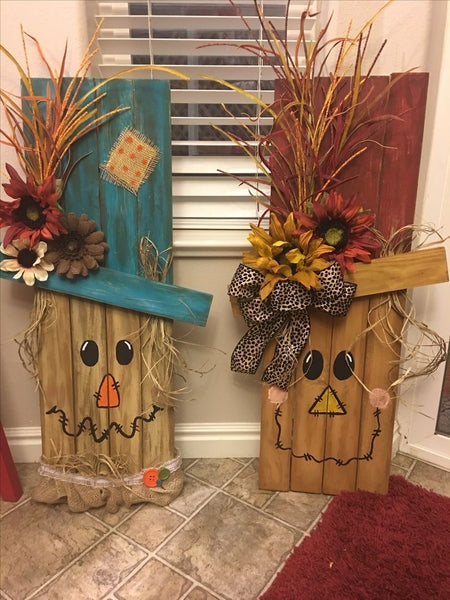 DIY Wooden Scarecrow Workshop 10/9/2020