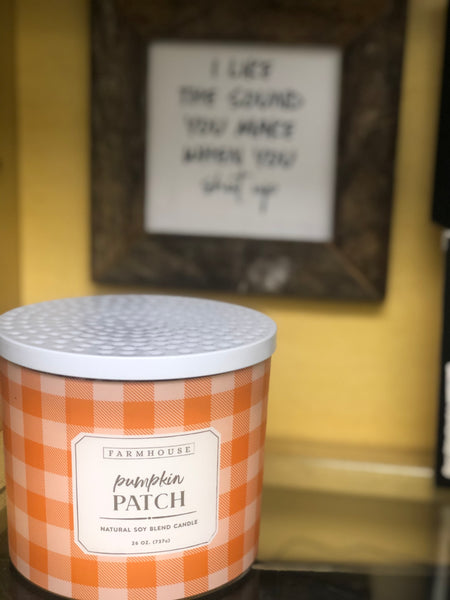 26oz Pumpkin Patch Candle