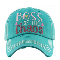 Boss of Chaos Vintage cap