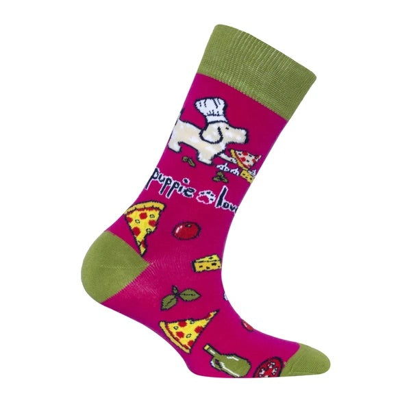Puppie Love Crew Socks