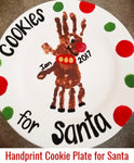 "Diy Kids Christmas ""Cookies for Santa "" plate workshop 12/14/19"