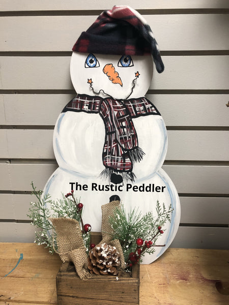 DIY Snowman Candle box Workshop 12/13/19