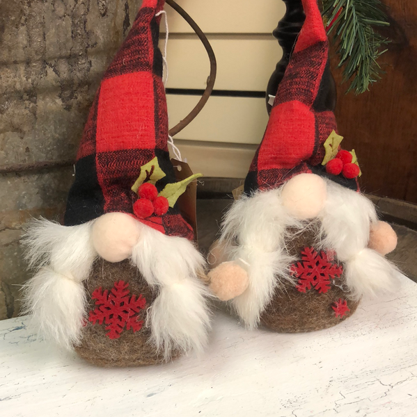 Christmas Gnome Tree Ornament