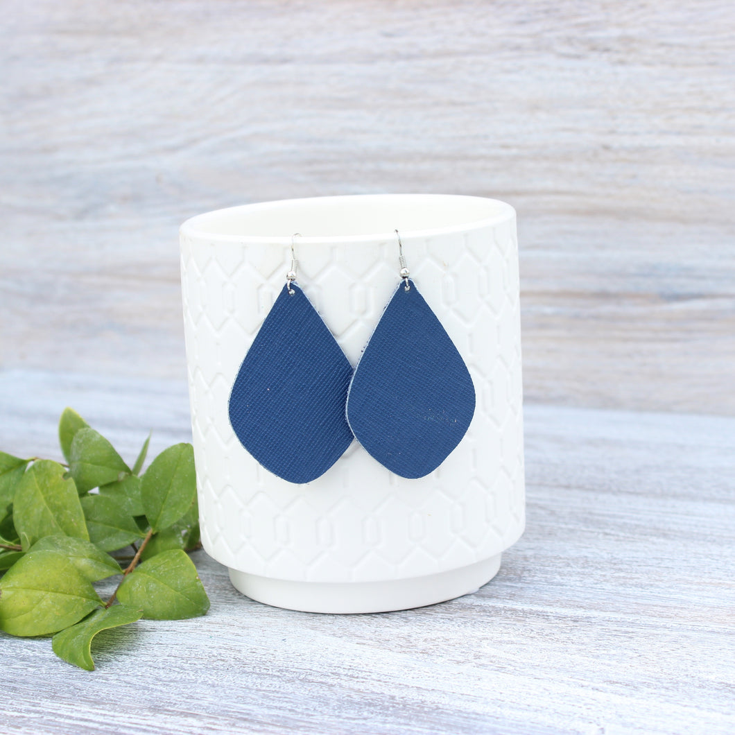 Navy Blue Aspen Earrings