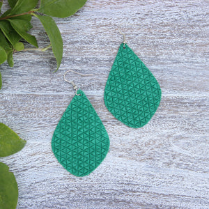 Jade Green Aspen Earrings