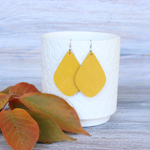 Antique Yellow Aspen Earrings