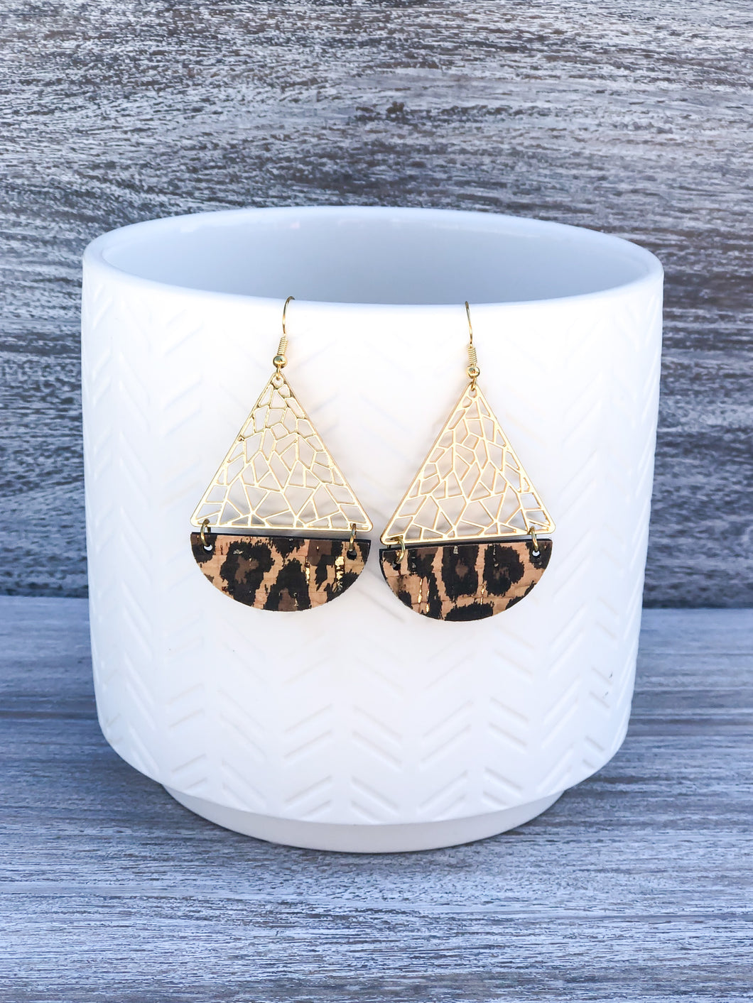 New Release Animal Print Earrings