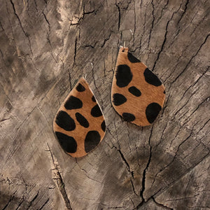Animal Print Jade earrings
