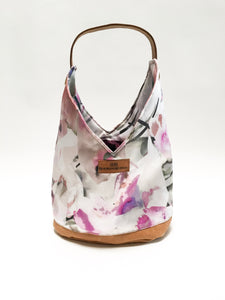 Lavender Floral Hobo Bag