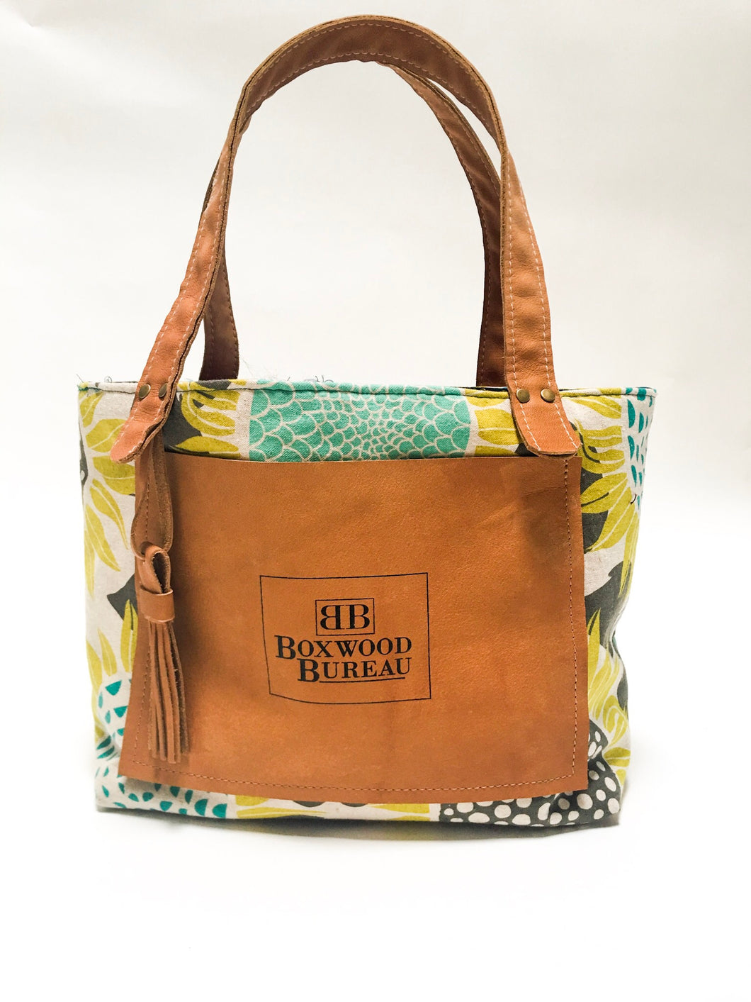 Sunflower Small Canvas Tote