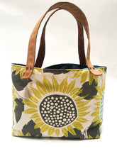 Load image into Gallery viewer, Sunflower Small Canvas Tote