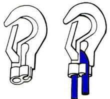 Load image into Gallery viewer, FPA Hooks - Adjustable Plastic Hooks