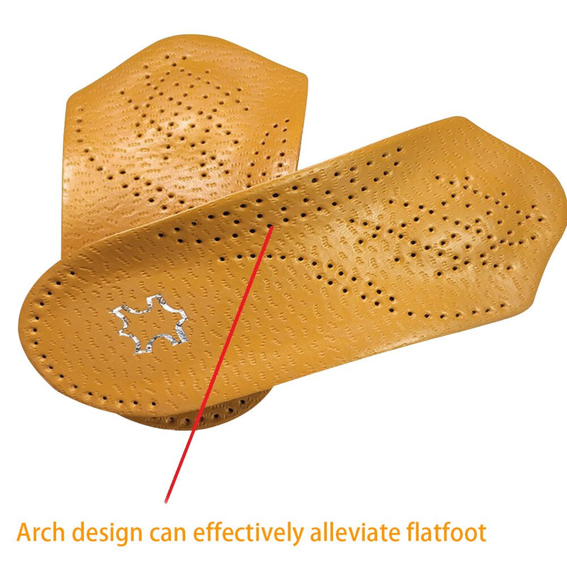 2PCS Friction Reduce Practical Orthotic Insoles
