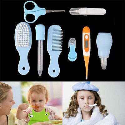 8 Pcs Newborn Baby Nail Hair Health Care Body