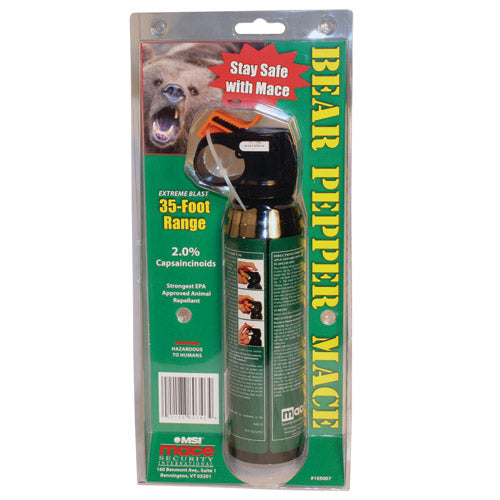 Bear Pepper Spray (largest pepper spray on the market)