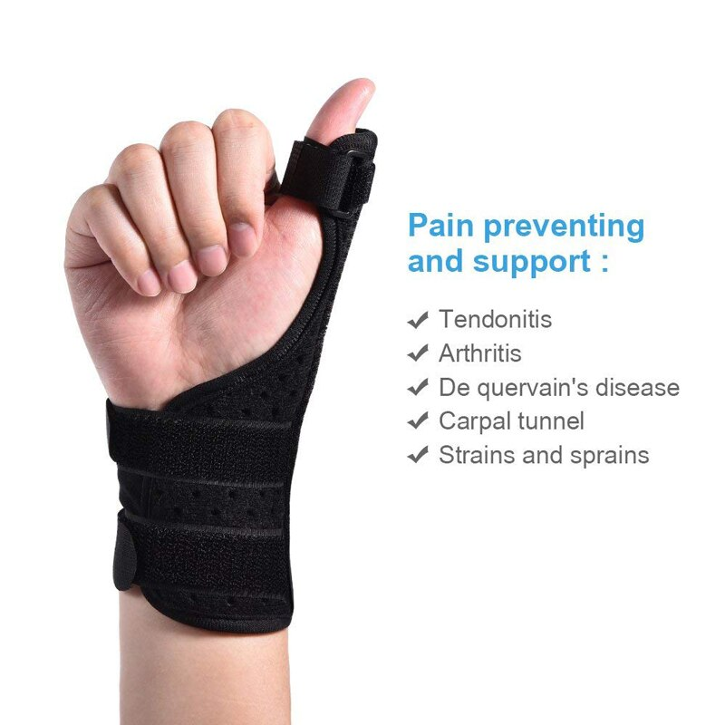 Breathable Adjustable Thumb Splint Stabilizer