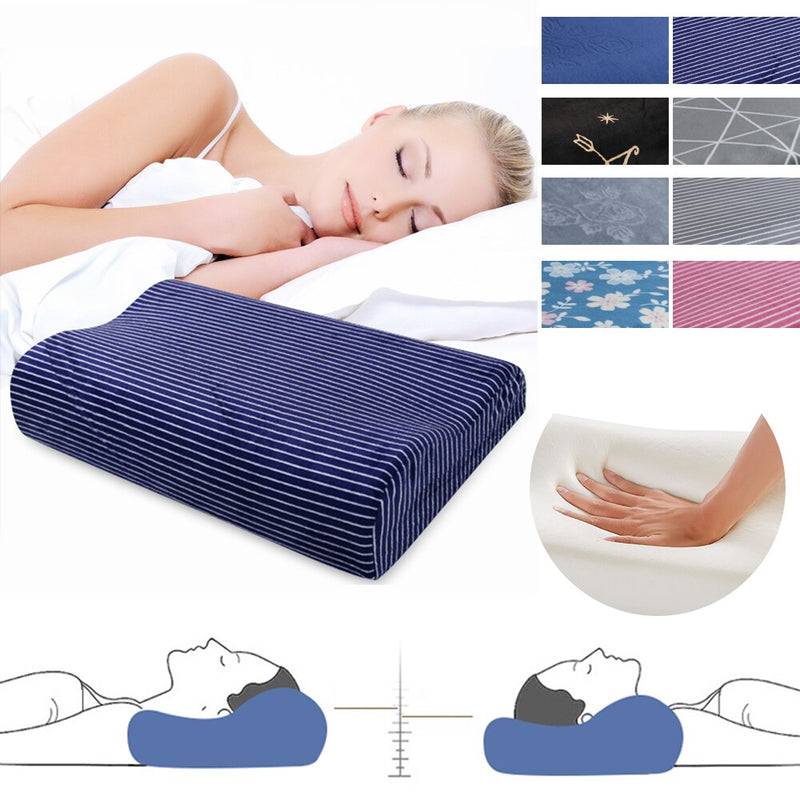 DIDIHOU Memory Foam Space Pillow Travel Slow