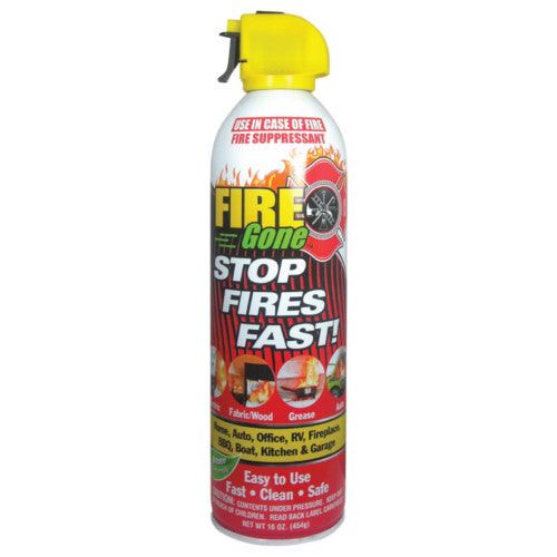 "16oz ""Fire Gone"" - Fire Suppressant"