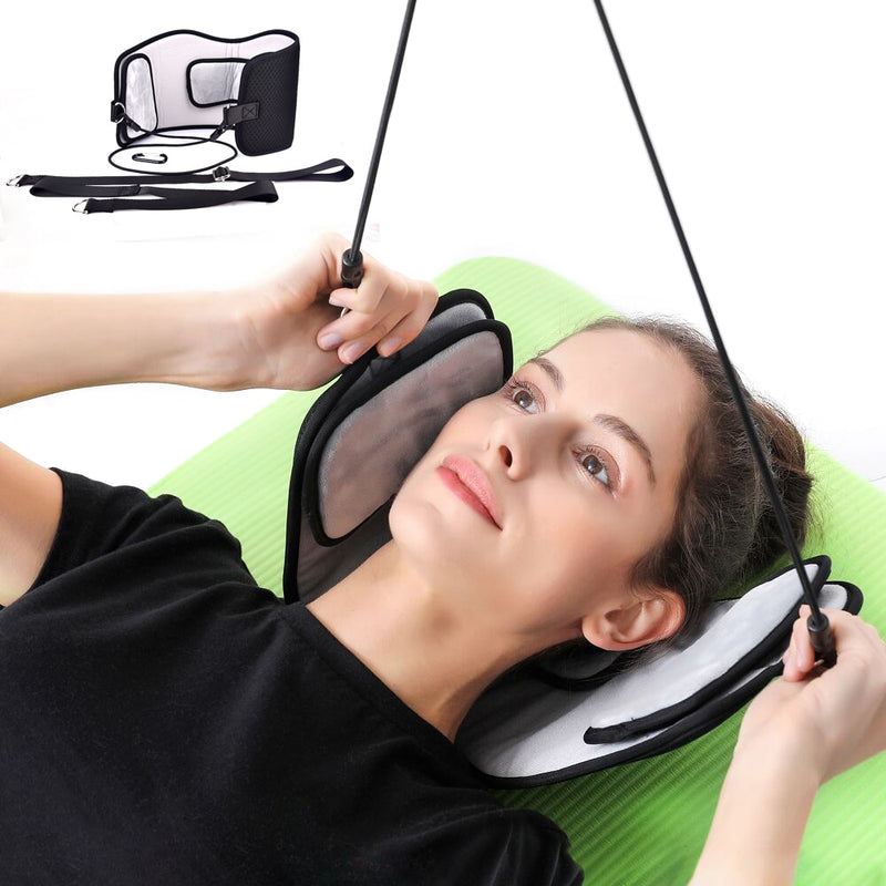 Stylish Black Portable Neck Pain Relief Relaxing