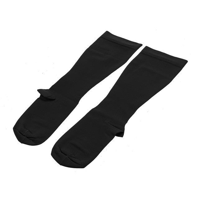 Unisex Compression Socks Men Women Medical Varicose Veins Leg Relief Pain Knee High Stockings M L  XL XXL