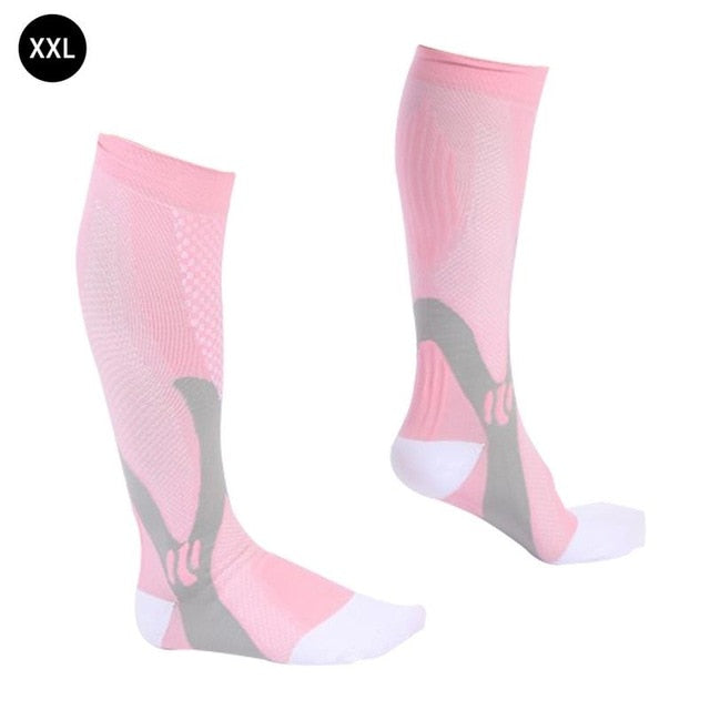 Medical& Althetic Compression Socks Outdoor Sports Stretch Socks for Men & Women S / M, L / XL, XXL
