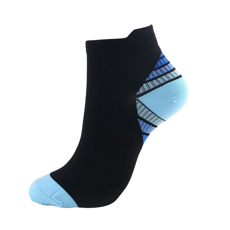 Men Women Plantar Fasciitis Arch Support Low Cut Running Travel Gym Cycling Socks  Compression Socks Athletic Medical