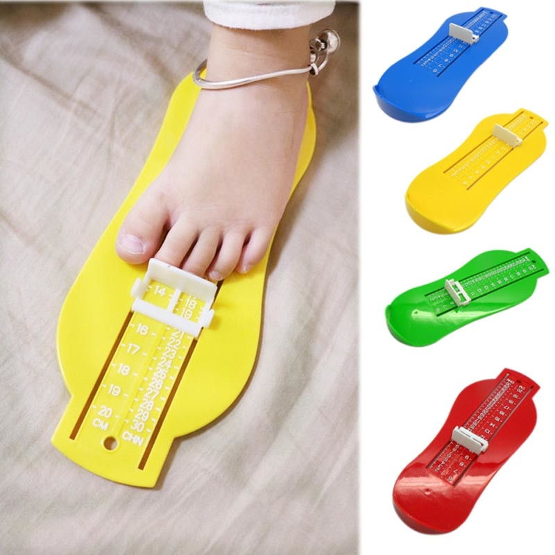 New Baby Child Shoe Toddler Infant Shoes Fittings Gauge Children Foot Measure High Quality