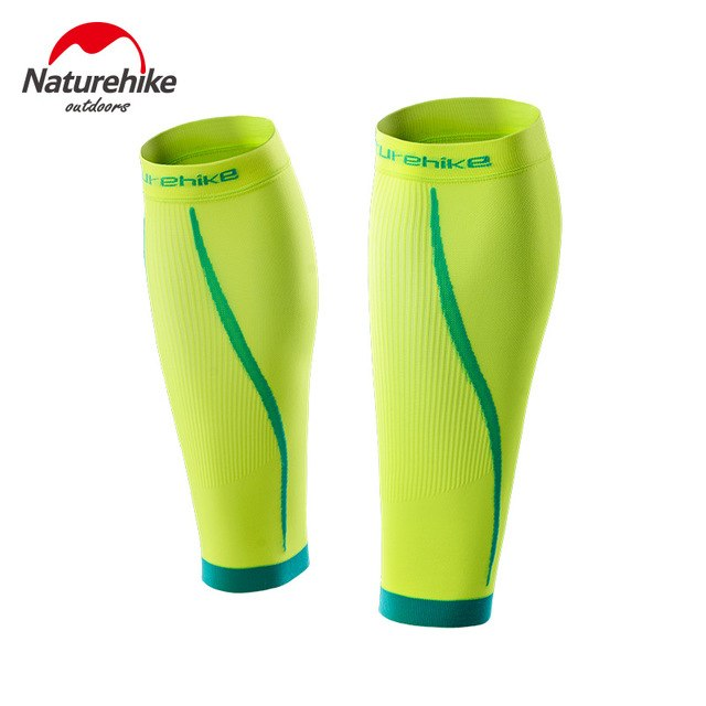 Naturehike 1 Pair Calf Compression Sleeve Outdoor Seamless Leggings Leg Sleeves Improved Leg Circulation Pain Relief NH17H003-M