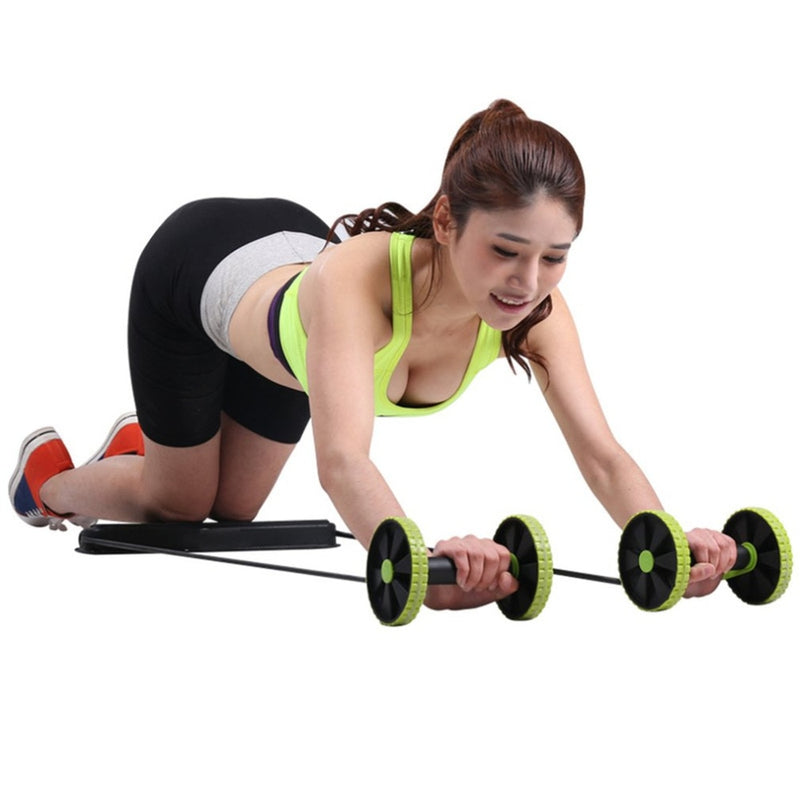Multifunction Abdominal Trainer Build Perfect Curve Body Portable Sport Pull Rope Health Muscle Home Training Equipment Hot Sale